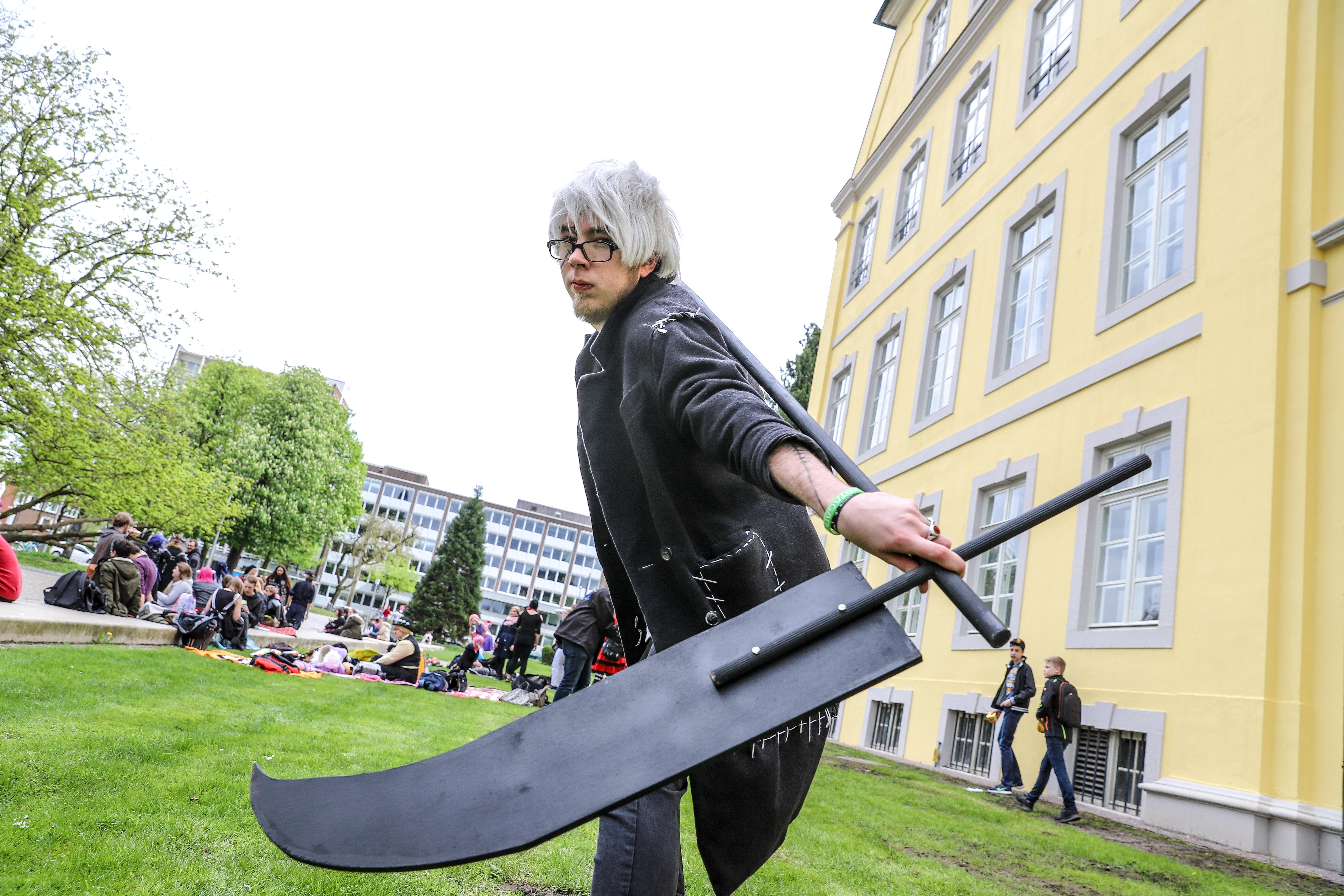 Otakus und Cosplayer treffen sich in Oldenburg