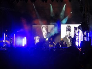 A Tribe Called Quest @ Pitchfork, Chicago, 7/15/2017 | Wikimedia | swimfinfan | CC BY-SA 2.0