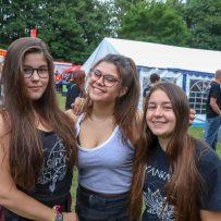 Drei Nordenhamerinnen (von links: Kim, Davina und Aliya