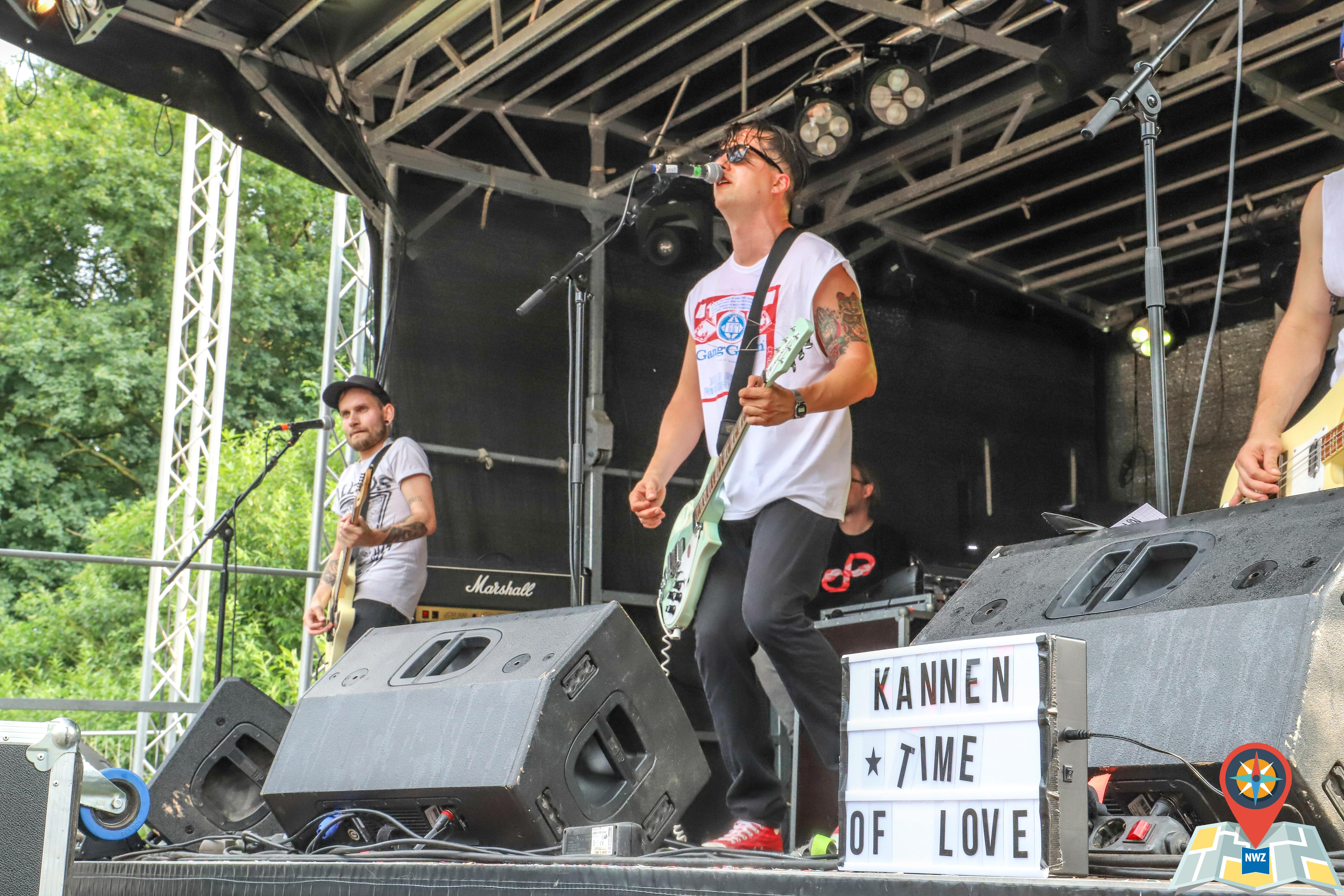 Fonsstock 2018, Samstag: Sewer Rats (Foto: Claus Hock)