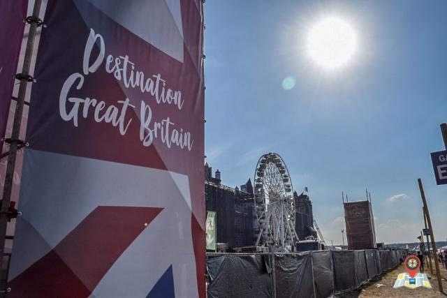 Das Motto des Airbeat One 2018 lautete Great Britain. (Bild: Chelsy Haß)