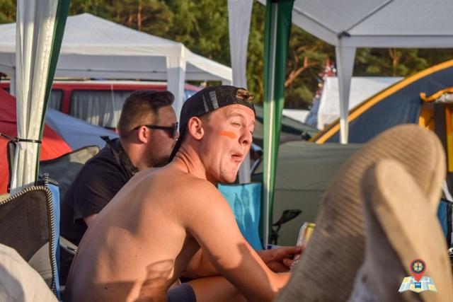 Auf dem Campingplatz des Airbeat One 2018. (Bild: Chelsy Haß)