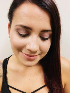 """""""Halo""""-Augen-Make-Up"""