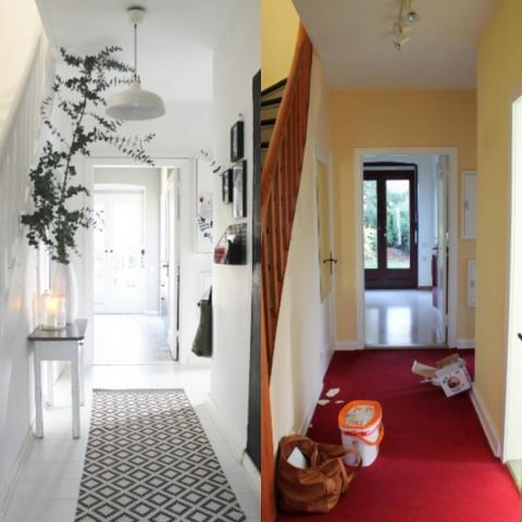 Vorher (rechts) und nachher (Bild: Brittabloggt.de)