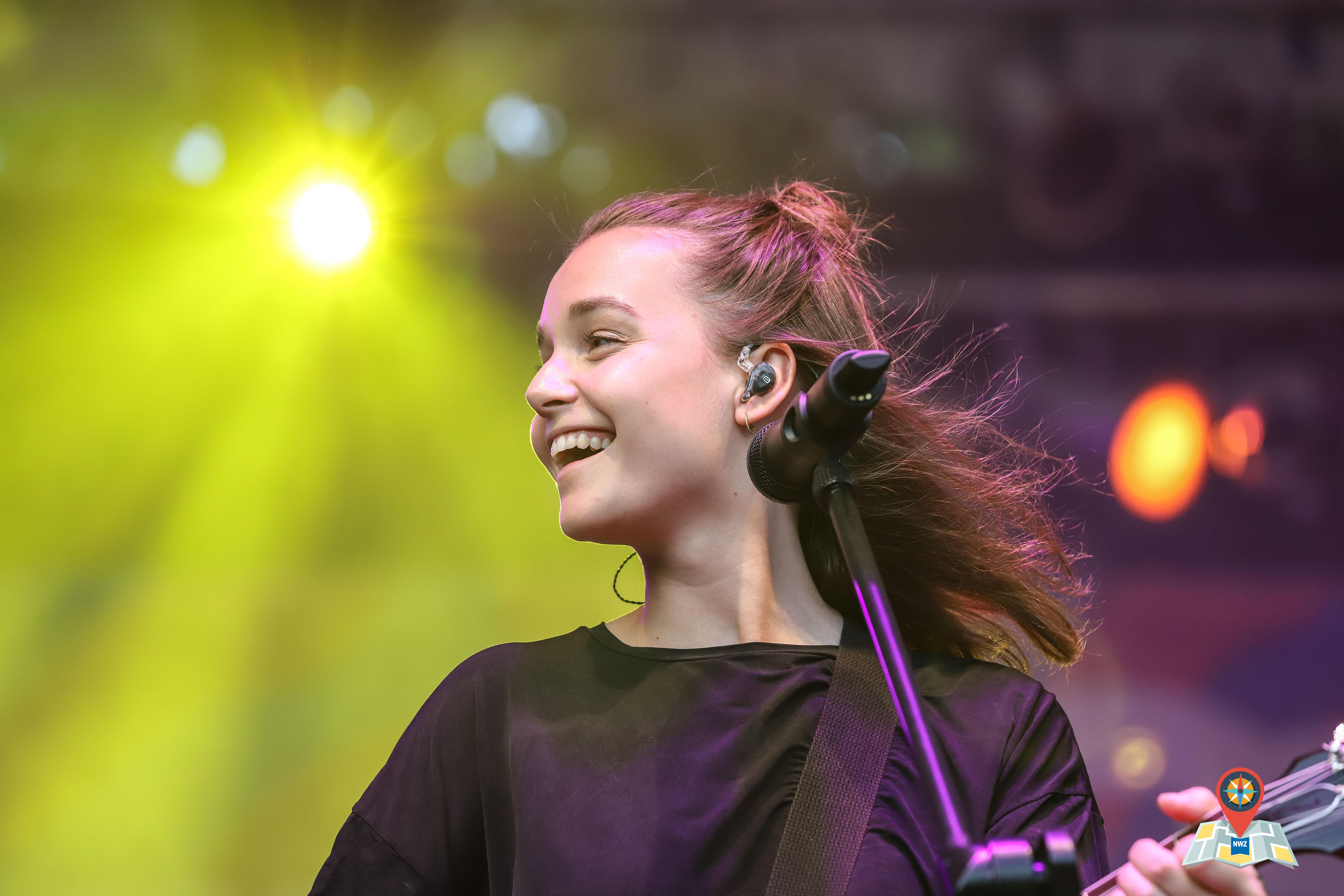 Sängerin Lotte auf dem Kultursommer in Oldenburg. (Bild: Claus Hock)