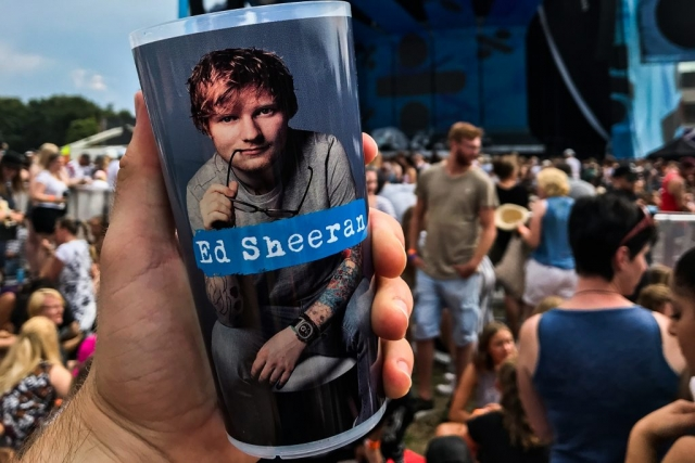 Ed Sheeran in Hamburg (Bild: Keno Rademaker)