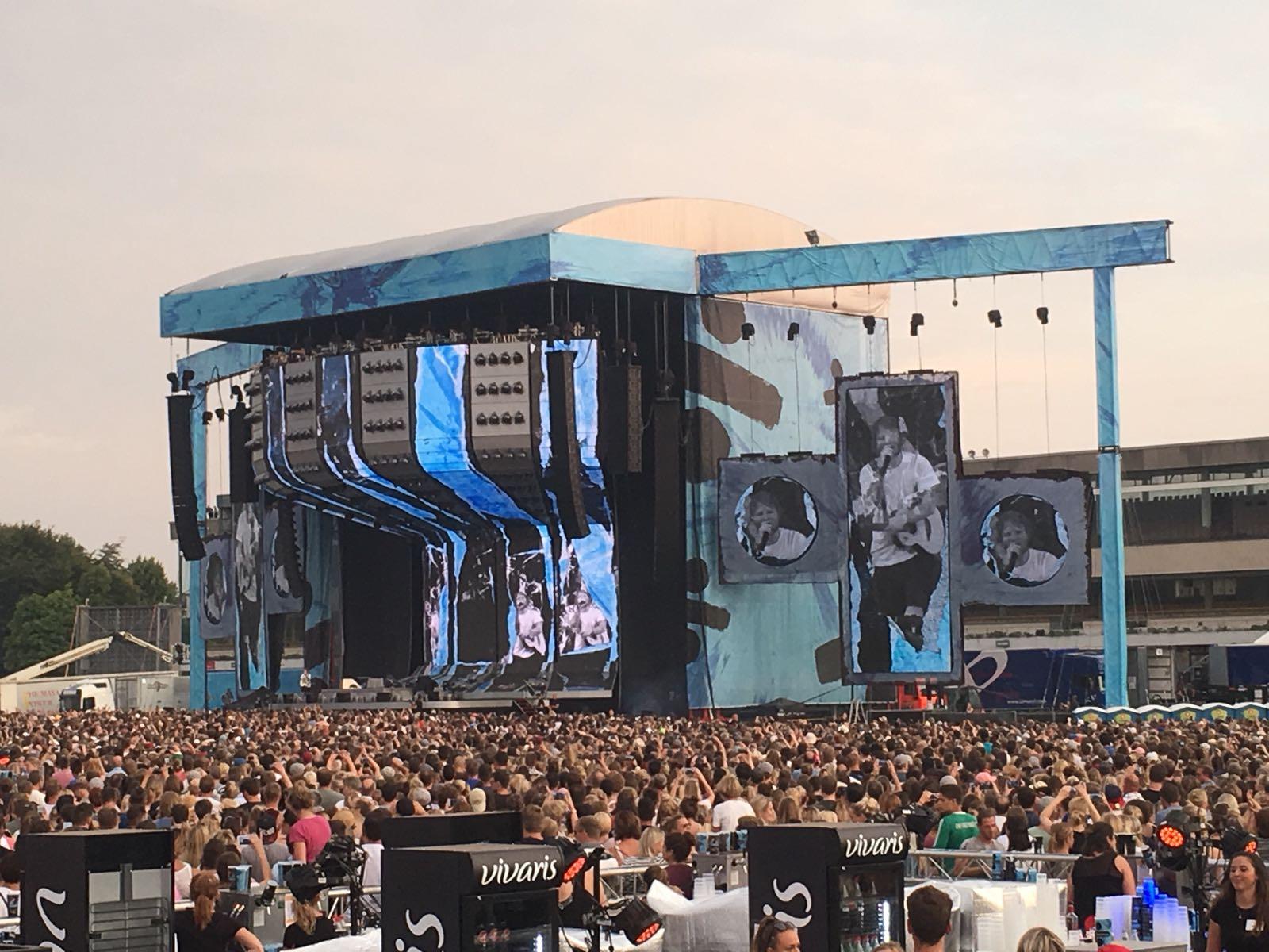 Ed Sheeran in Hamburg (Bild: Chelsy Haß)