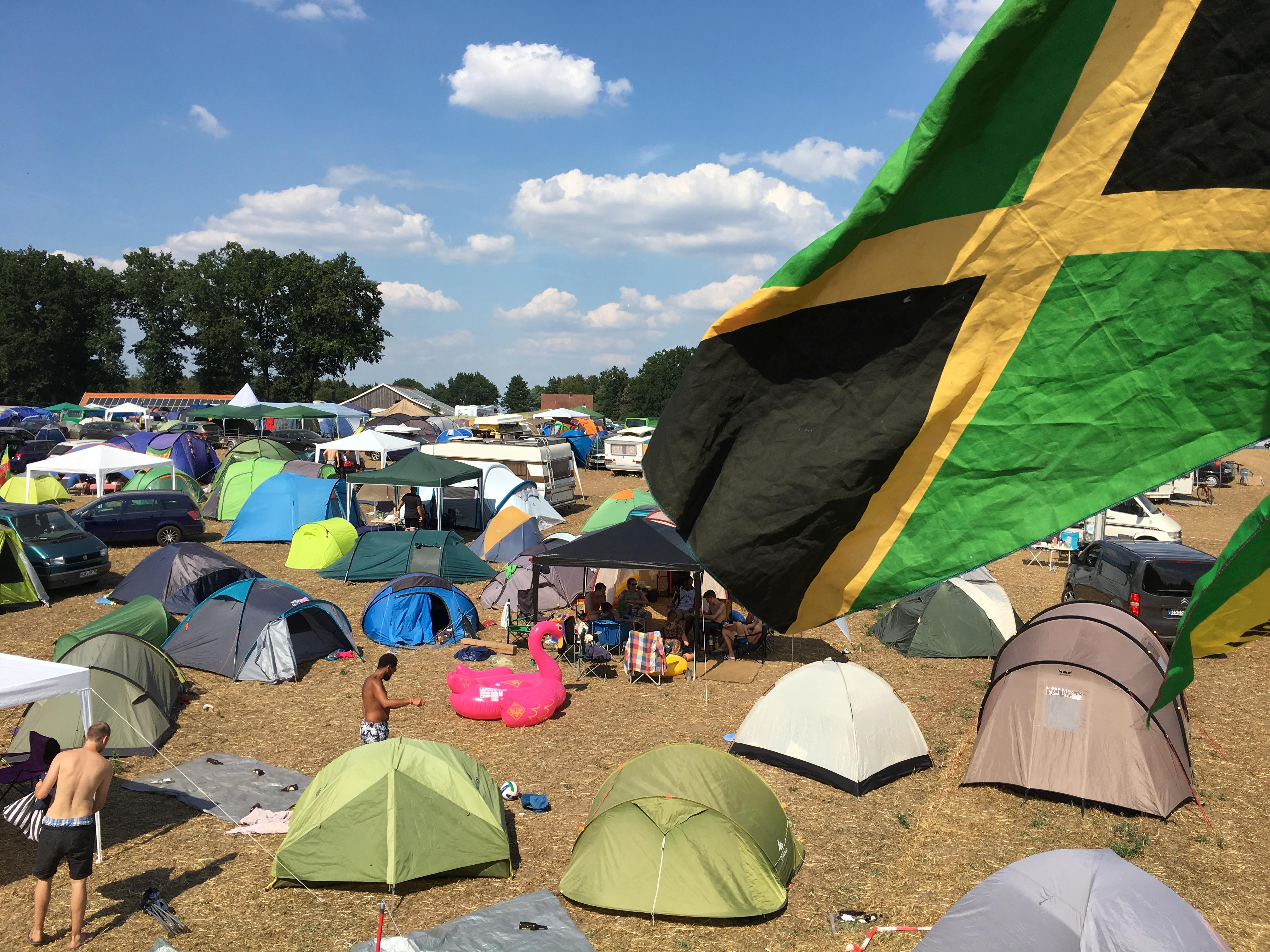 Reggae Jam 2018: Reggae Jam Festivalgelände (Bild: Wolfgang Alexander Meyer)