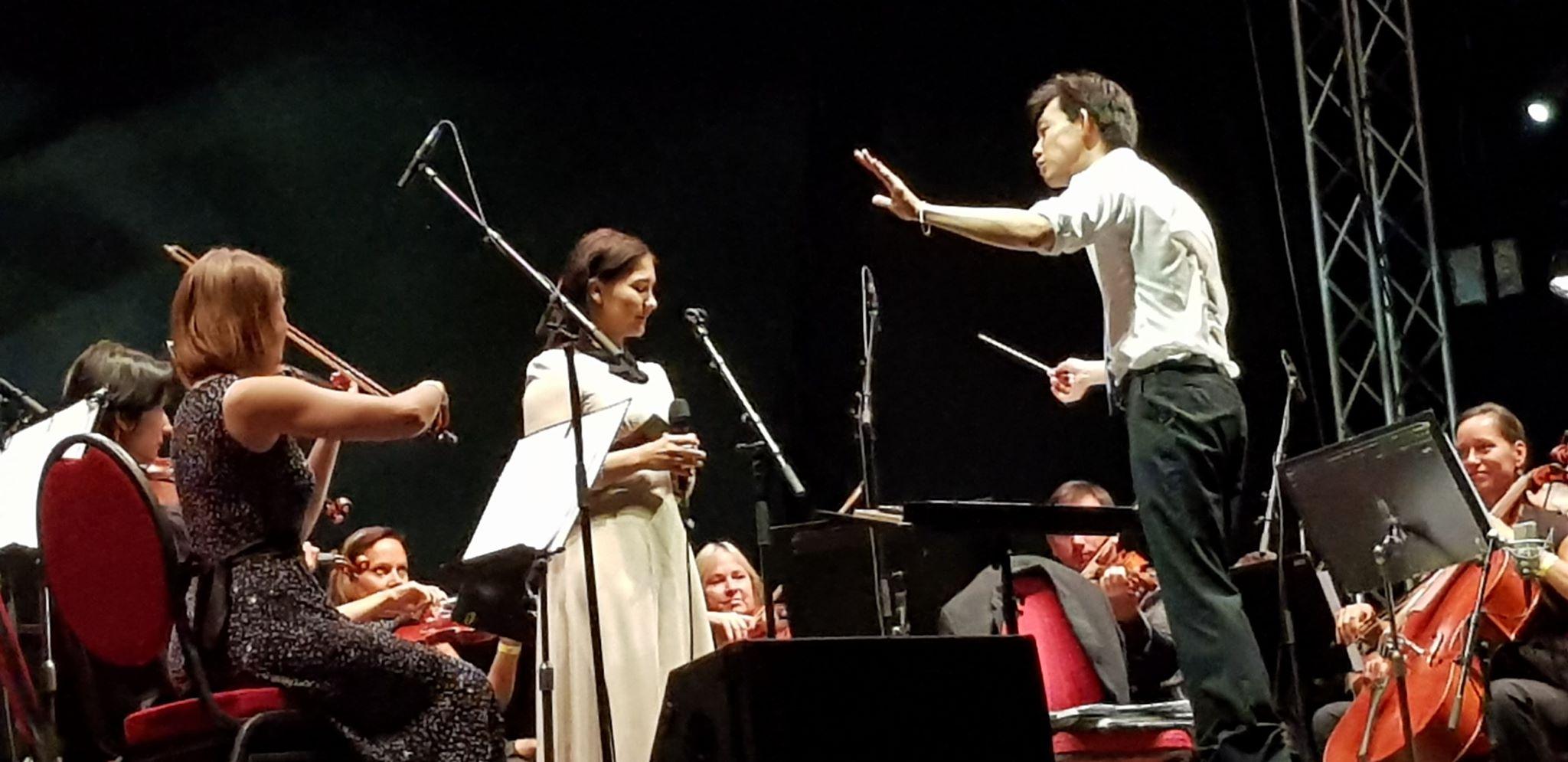 """Krönender Abschluss: das Konzert des """"Pilsen Philharmonic Orchestra"""". (Bild: Verena Sieling)"""