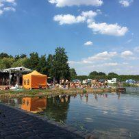 Reggae Jam 2018: Eine der vielen Badestellen auf dem Festivalgelände (Bild: Wolfgang Alexander Meyer)