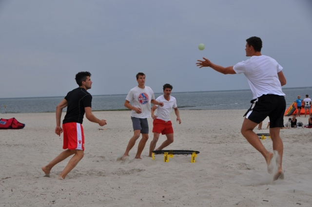 Spikeball auf Baltrum
