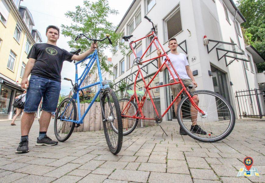 Bessere Aussicht als Lkw-Fahrer: Mit dem Tallbike in Oldenburg
