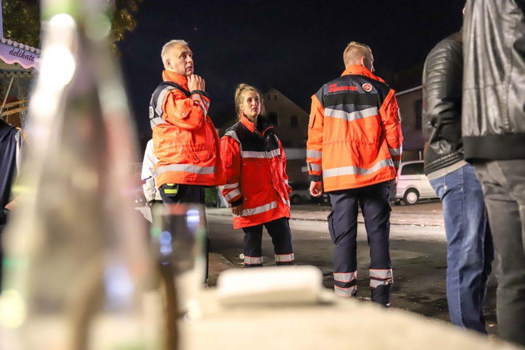 Die Johanniter Unfallhilfe im Einsatz (Bild: Claus Hock)