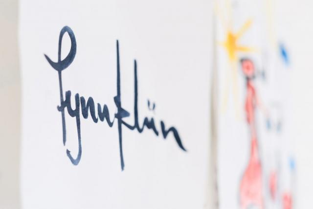 Fynns Signatur (Bild: Christian J. Ahlers)
