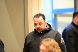 Högel Prozess in der WEH Weser Ems Halle Gericht Klinikmordserie Teil 3 der Täter zeigt zum ersten Mal sein Gesicht (Bild: Torsten von Reeken)