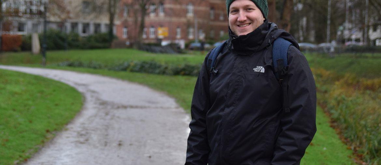 Reiseblogger Tobias Hoiten erzählt von seinen Hobbys und seinen Erfolg auf Instagram. (Bild: Chelsy Haß)