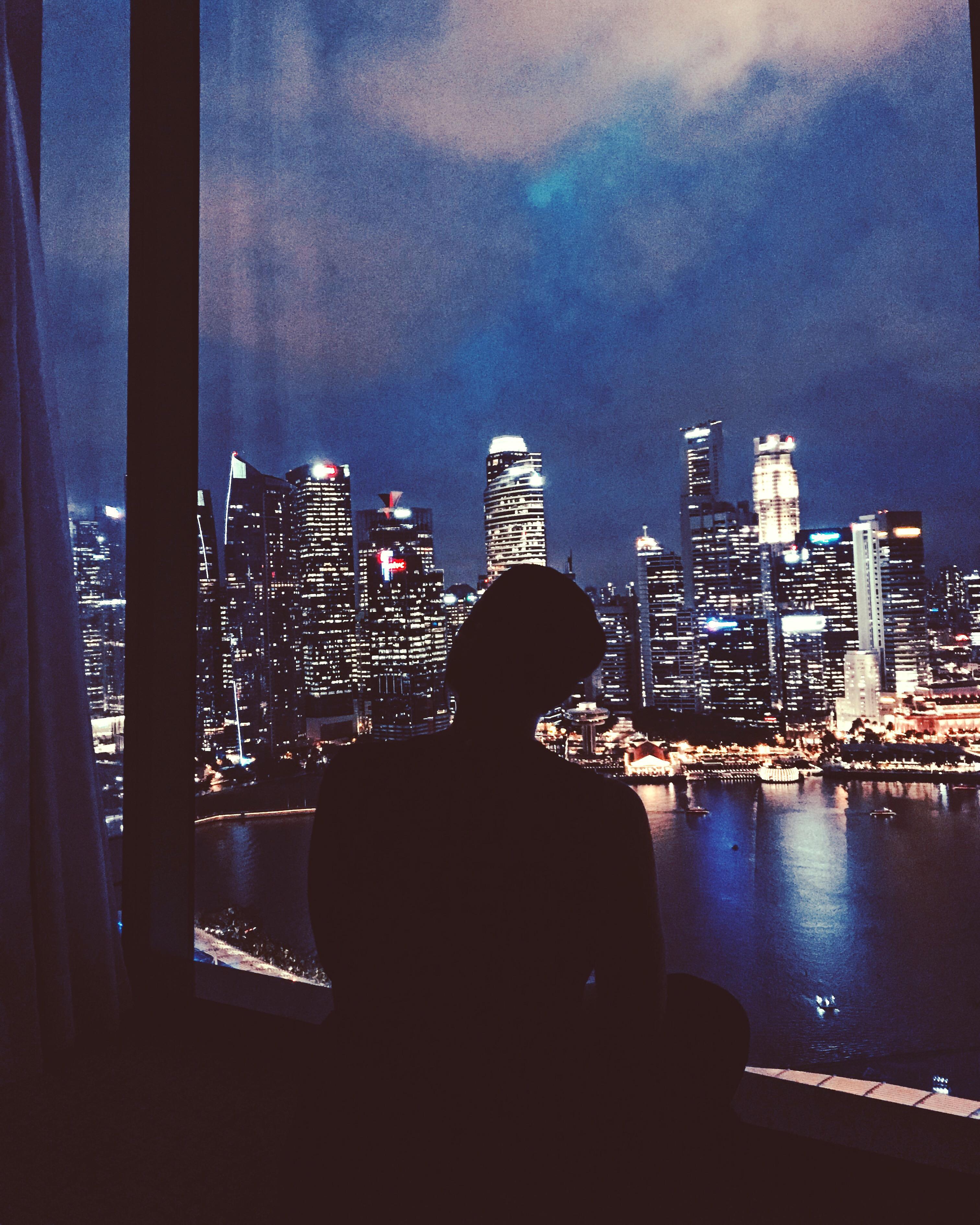 Skyline von Singapur (Bild: Emily Zimmermann)