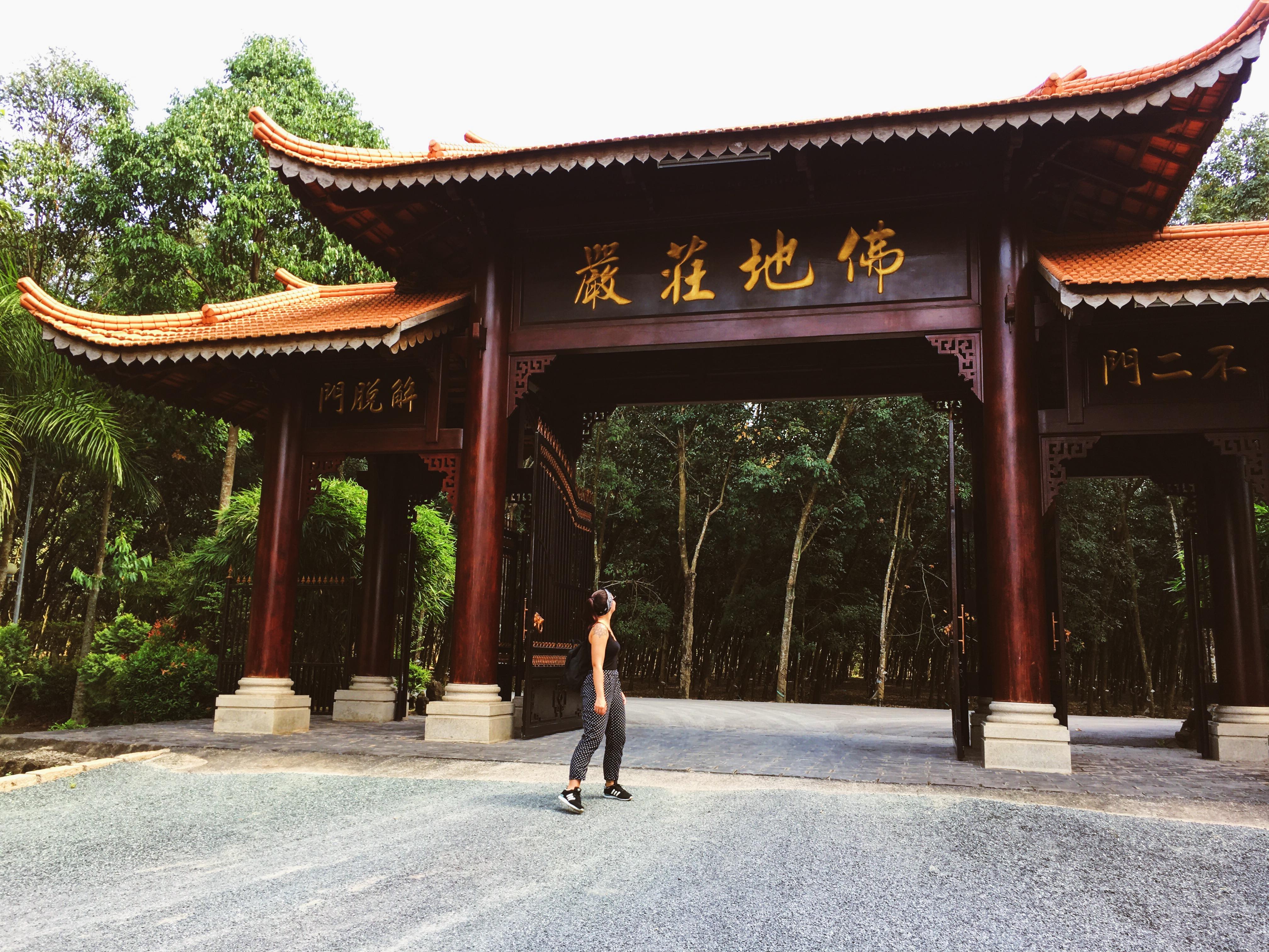 Buddhistisches Kloster (Bild: Emily Zimmermann)