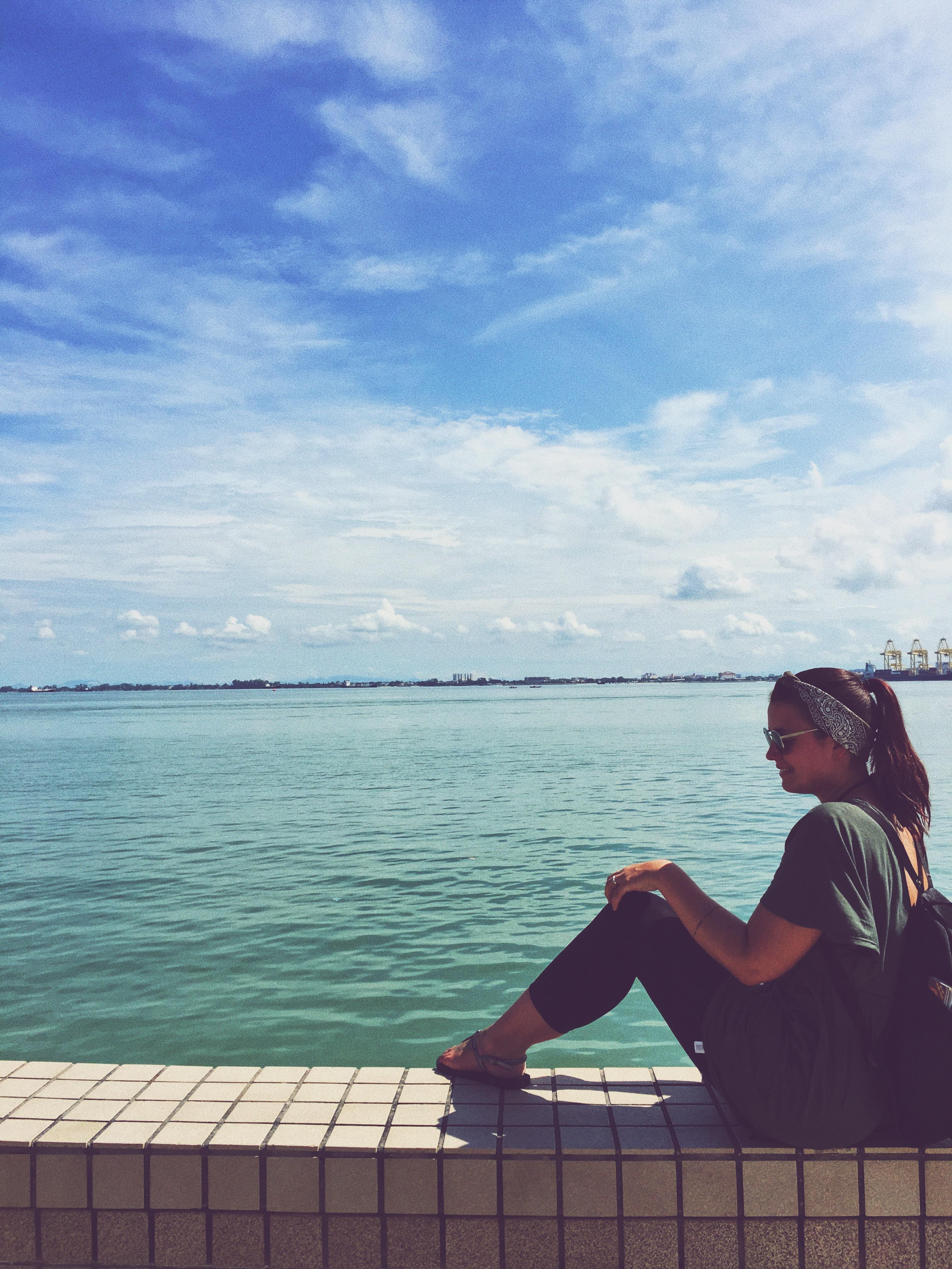 Emily unterwegs in Asien (Bild: Emily Zimmermann)